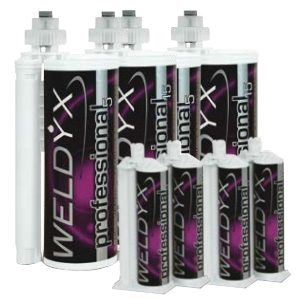 WELDYX PROFESSIONAL 15 CZARNY 10:1 490 ml