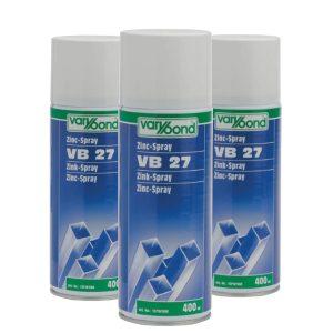SPRAY CYNKOWY CIEMNY VB 27 VARYBOND 400 ml