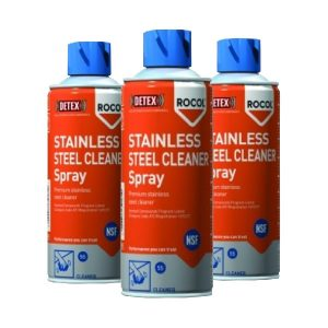 STAINLESS STEEL CLEANER ROCOL Spray 400 ml